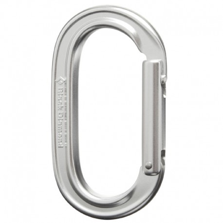karabina BLACK DIAMOND Oval Keylock polished