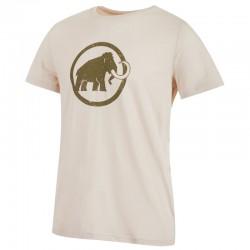 triko MAMMUT Logo T-Shirt Men linen
