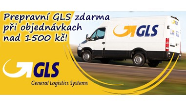 Přepravní GLS zdarma
